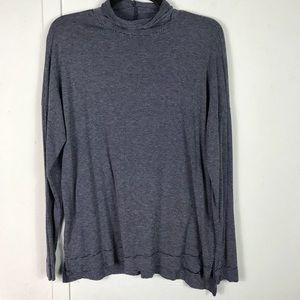 Zara Trafaluc navy striped fall winter T shirt